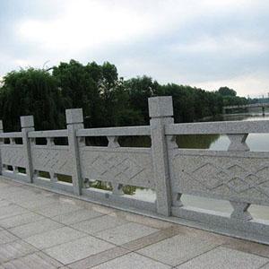 五莲花浮雕桥栏杆